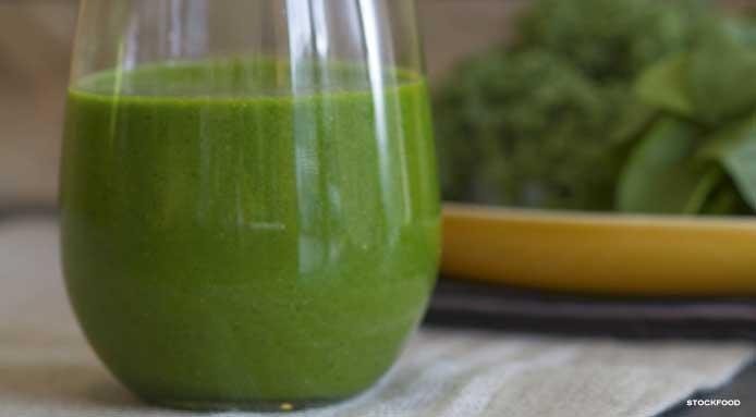 smoothie spinaci