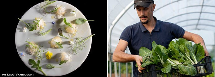 Famous Chefs | Enrico Crippa in the Vegetable Garden