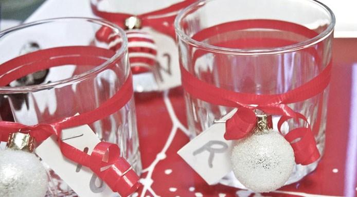 Bicchieri Con Decorazioni Natalizie.Tavola Di Natale Le Decorazioni Fai Da Te Piu Facili