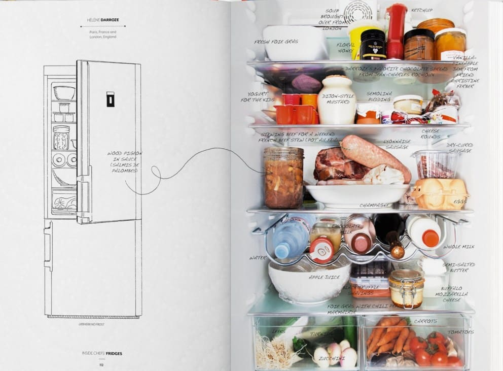 Inside Chef's Fridges Libro
