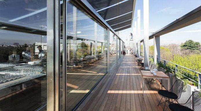 terrazza triennale milano