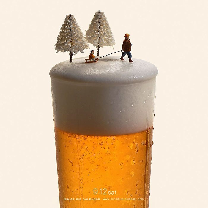 Miniature-food-art-diorama