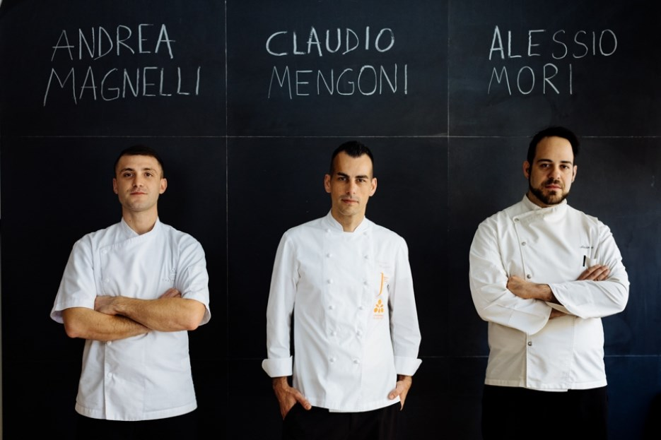 Nuovi chef alla Lungarno Collection
