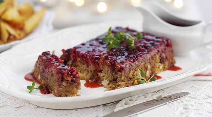 Arrosto vegetariano castagne e mirtilli