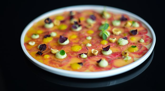 carpaccio asiatique