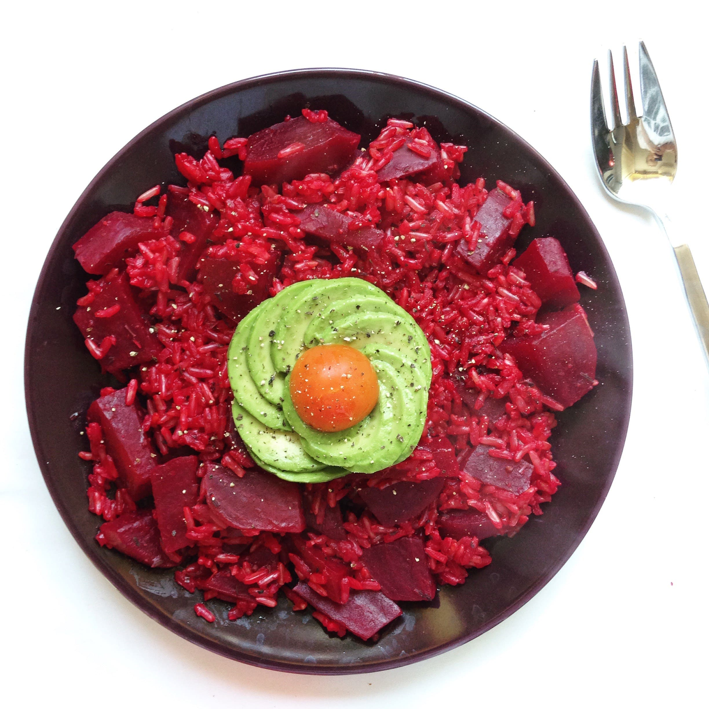 Avocado Rose Beetrot