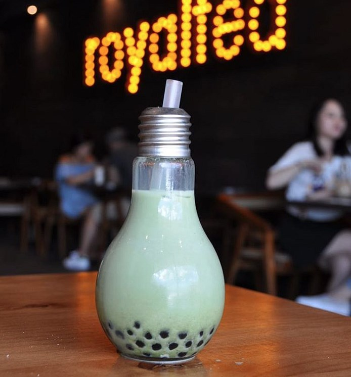 lightbulb drink royal tea toronto