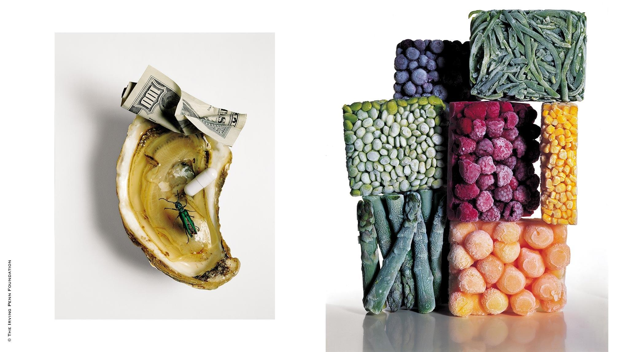 Irving Penn Aphrodisiacs | Irving Penn, Frozen Foods with String Beans