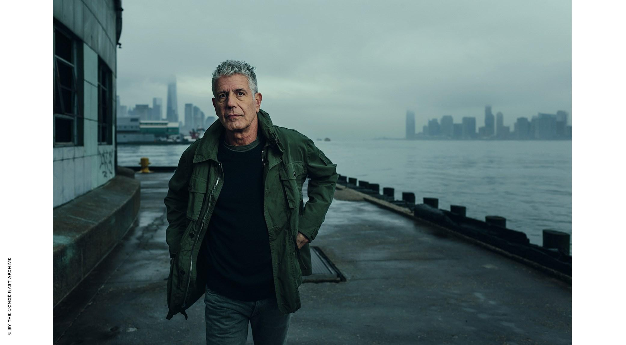 Norman Jean Roy, Anthony Bourdain