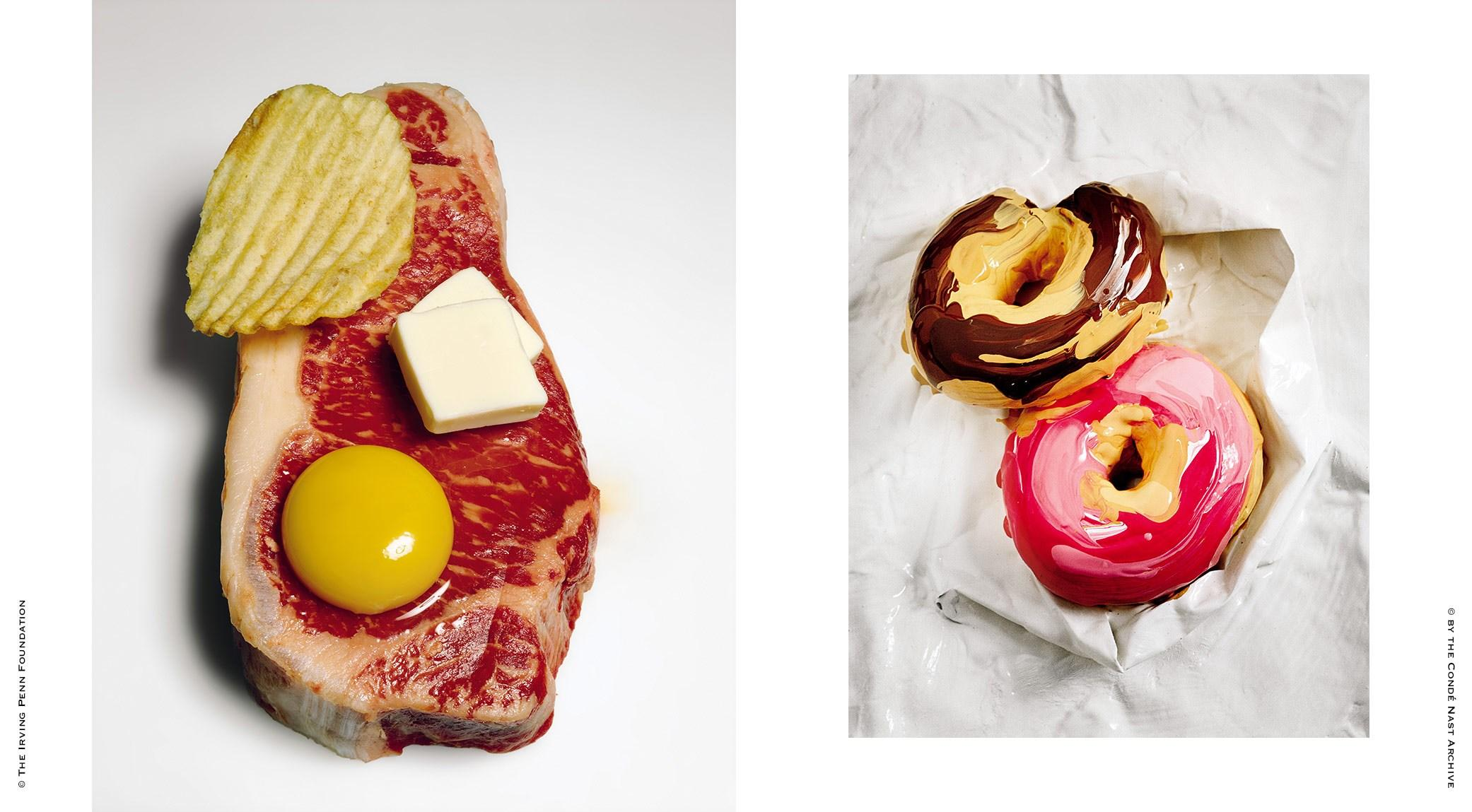 Irving Penn, Cholesterol's Revenge | Tim Walker, The Sweet Hereafter