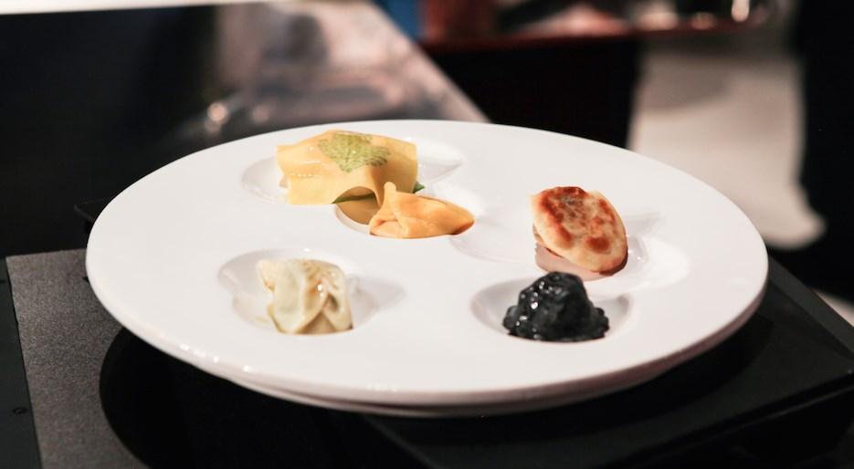 Davide Oldani: il piatto