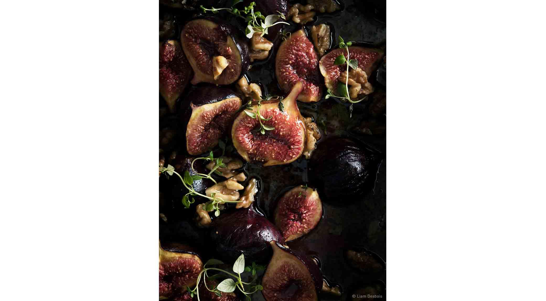 Baked Figs by Liam Desbois