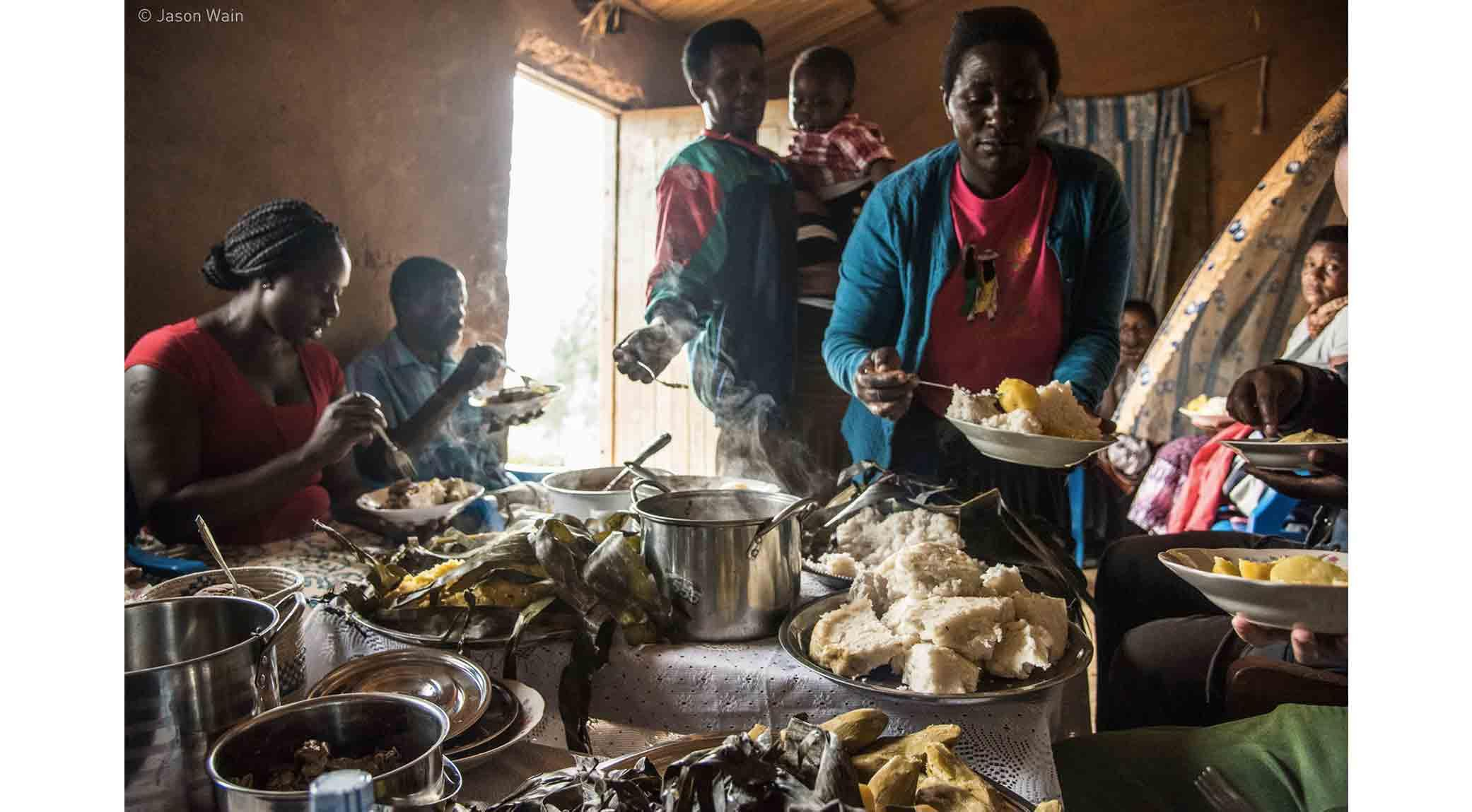 A Ugandan Feast by Jason Wain