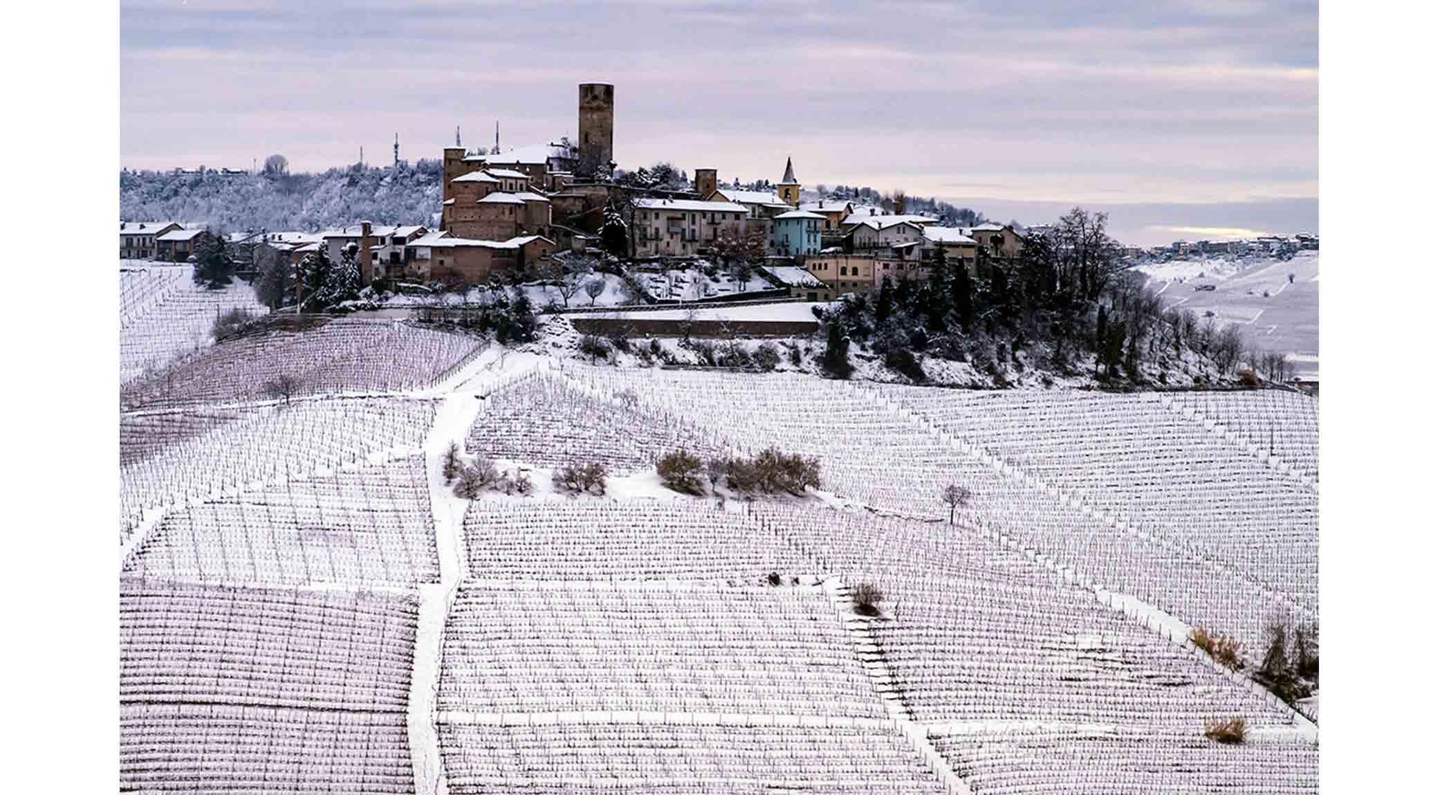A Langhe Winter by Thomas Hyland