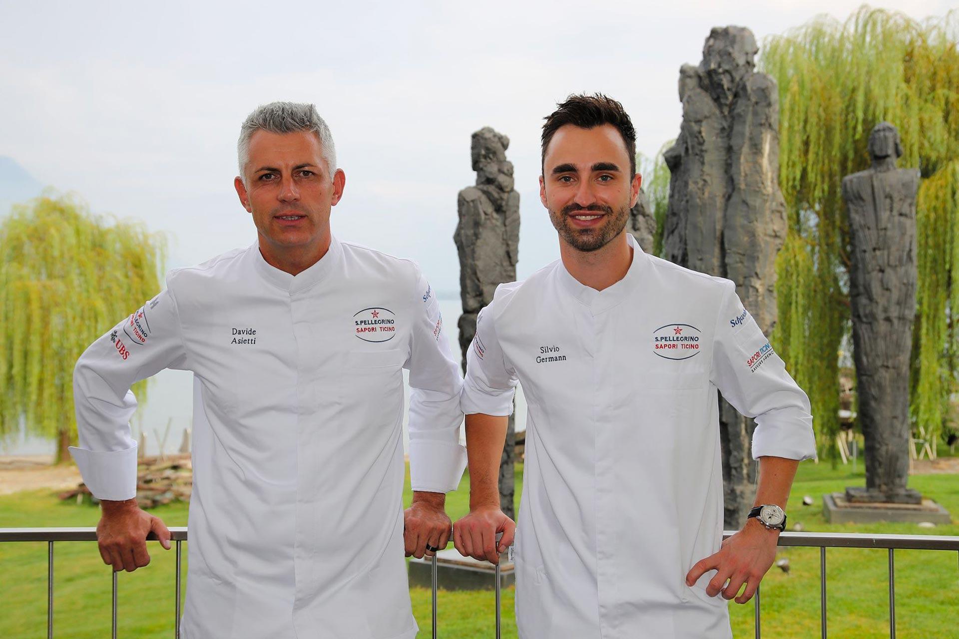 Chef Silvio Germann Davide Asietti Sapori Ticino 2020