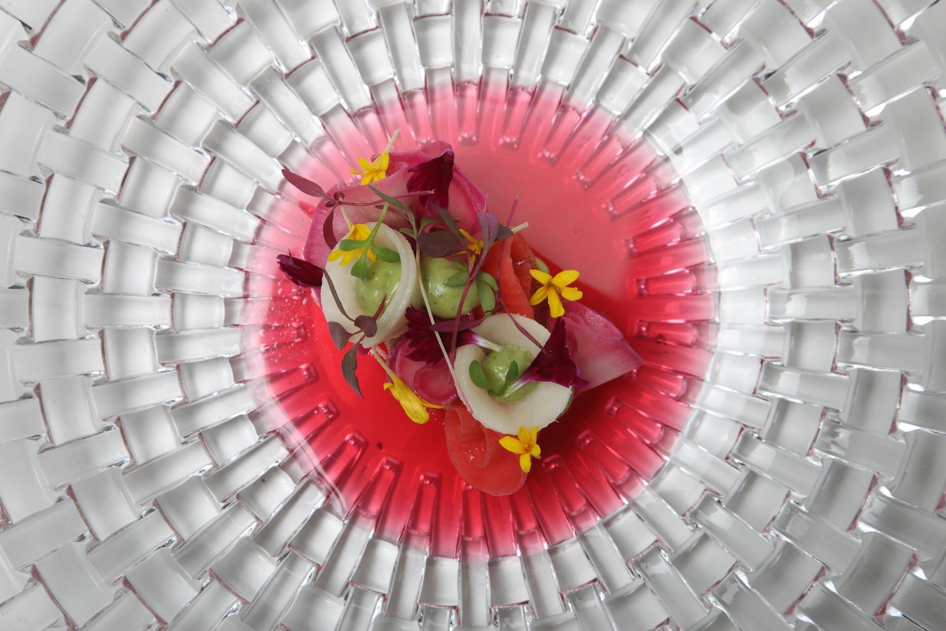Piatto Chef Silvio Germann Sapori Ticino 2020