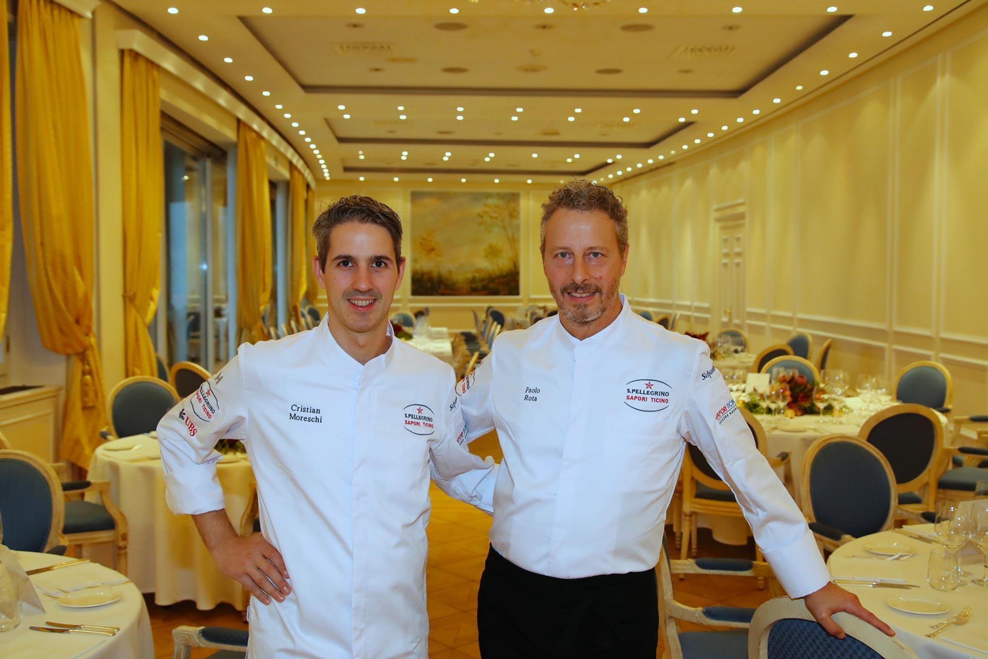 Chef Paolo Rota Cristina Moreschi Sapori Ticino 2020