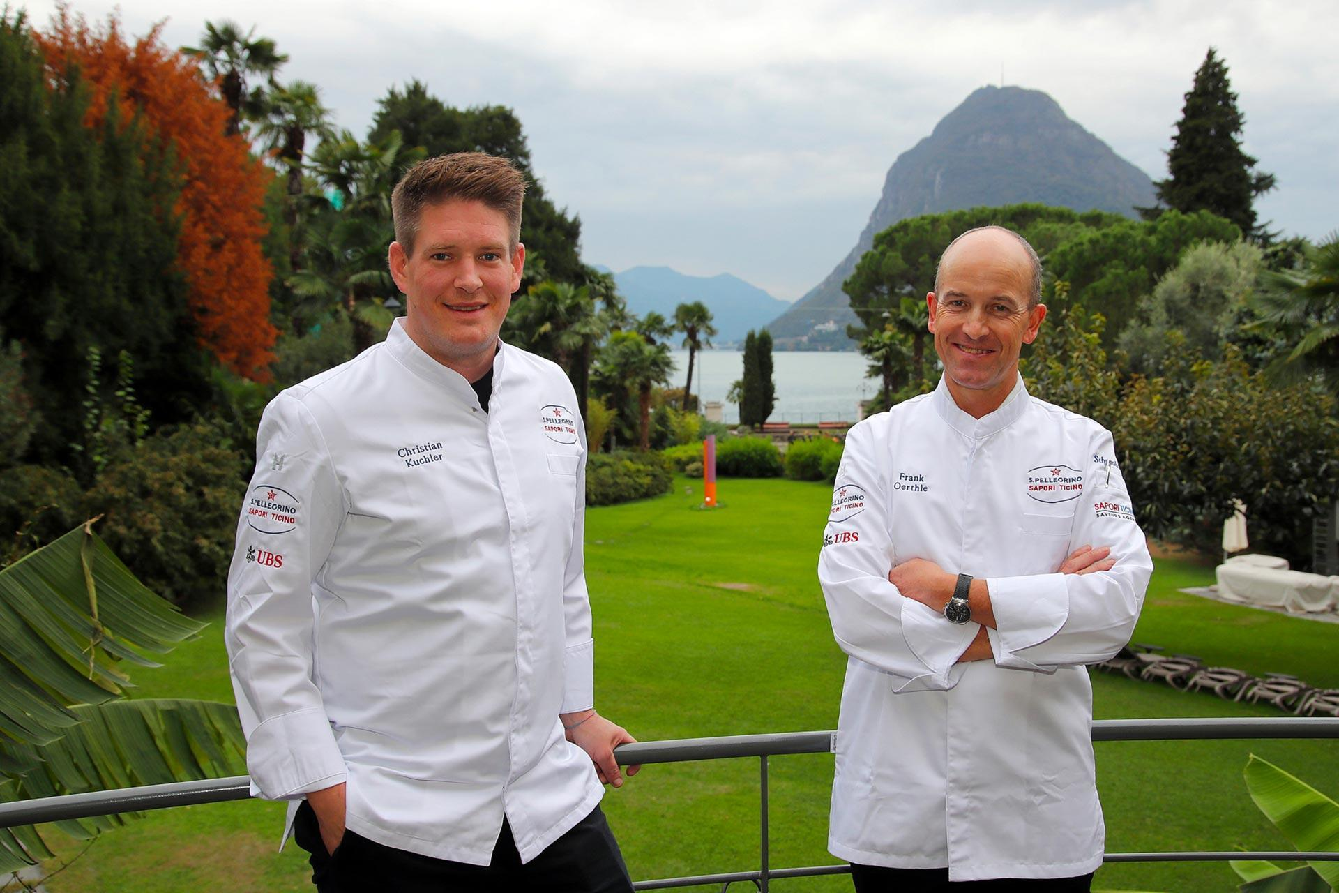 Chef Kuchler Frank Oerthle Sapori Ticino 2020
