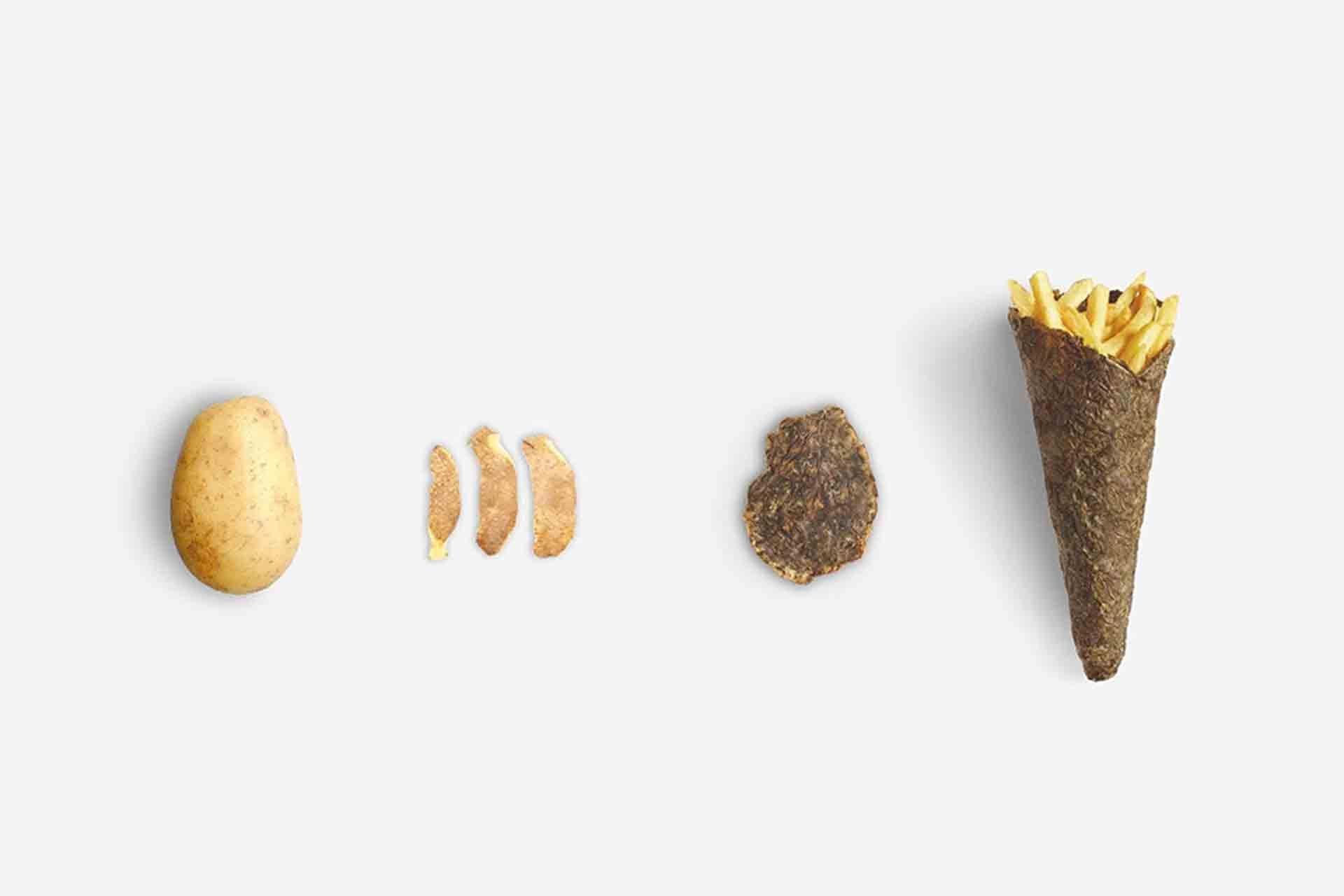 Peel saver dalle bucce di patata ecologico pack