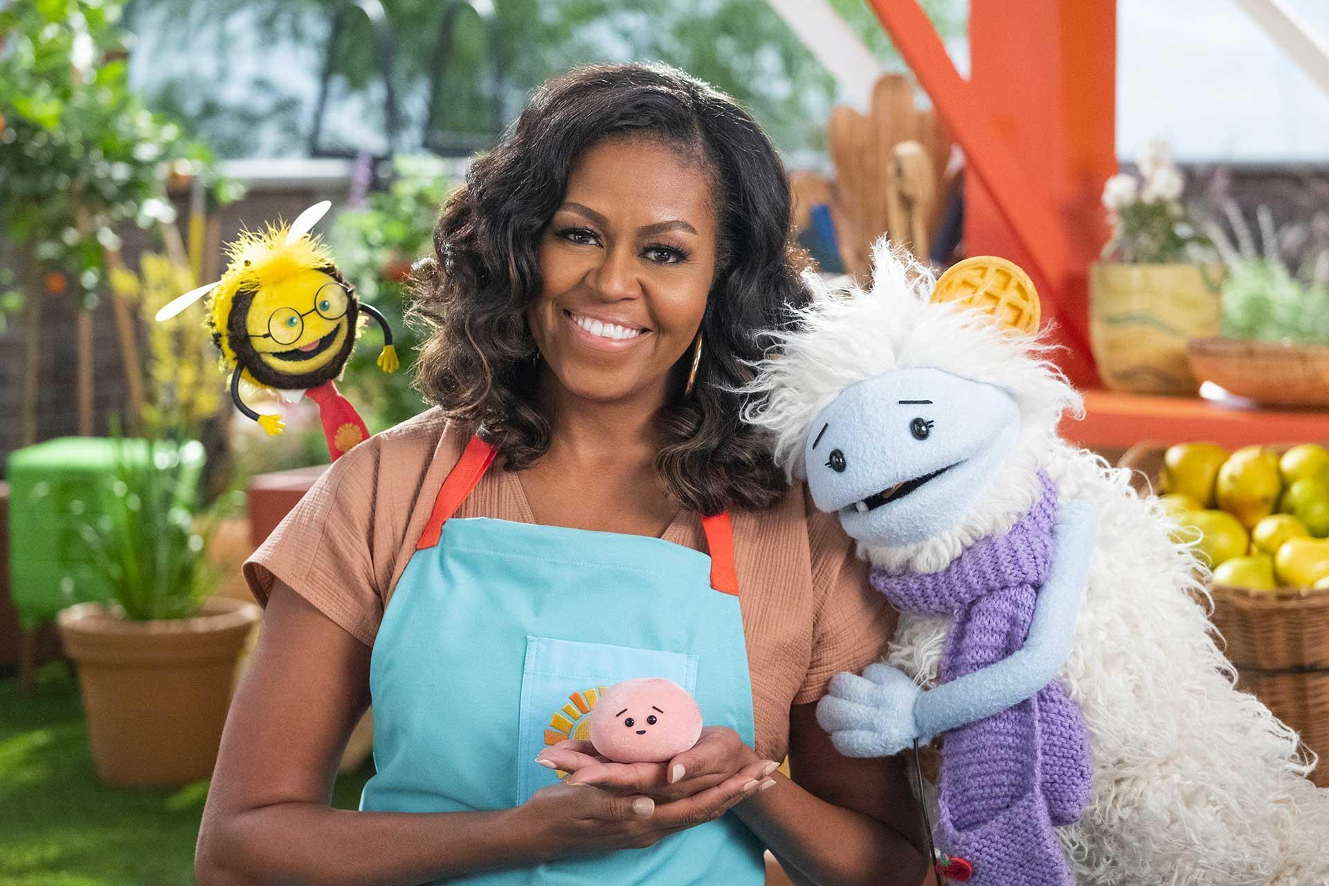 Waffles + Mochi con Michelle Obama