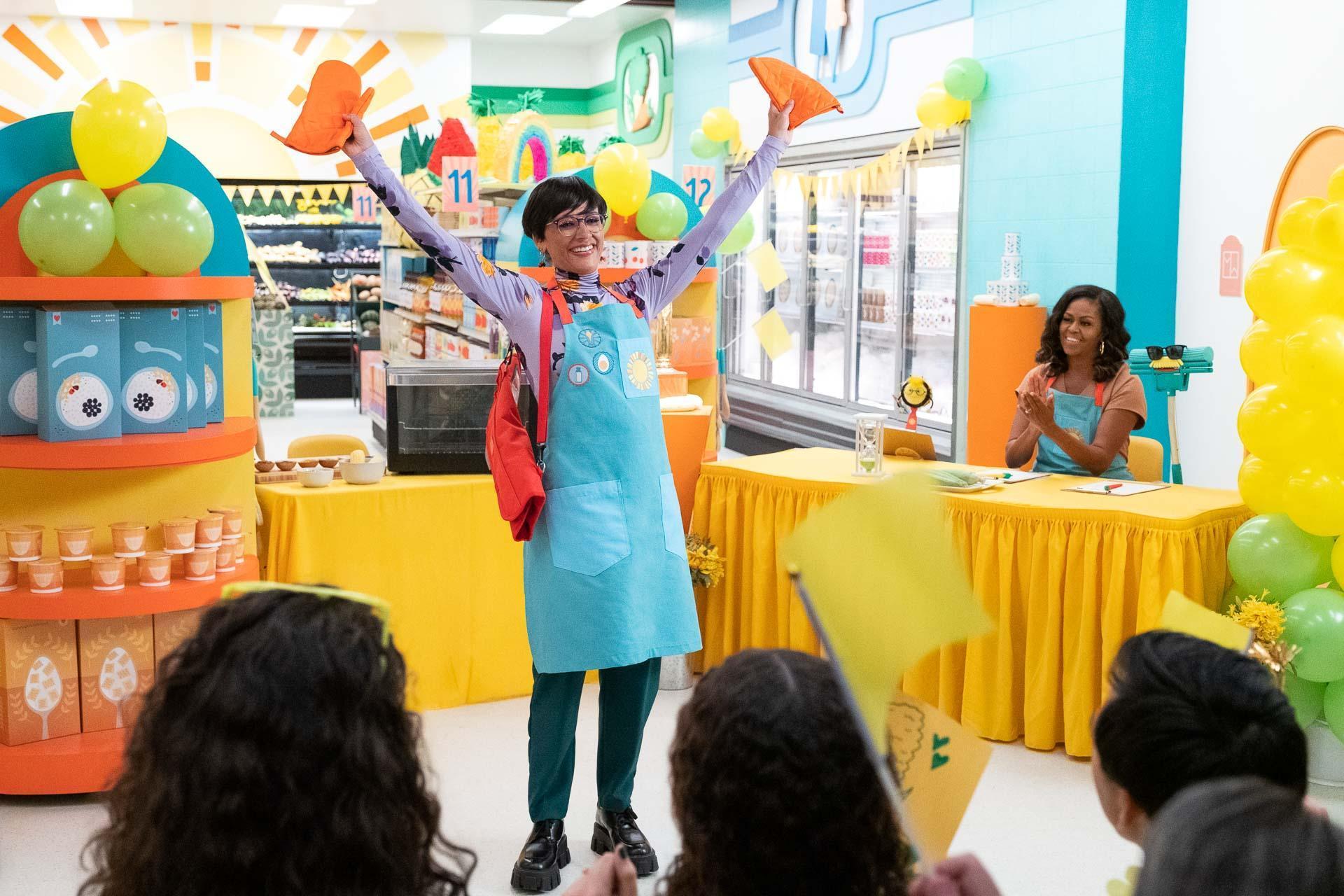 Waffles + Mochi con Michelle Obama | Rashida Jones