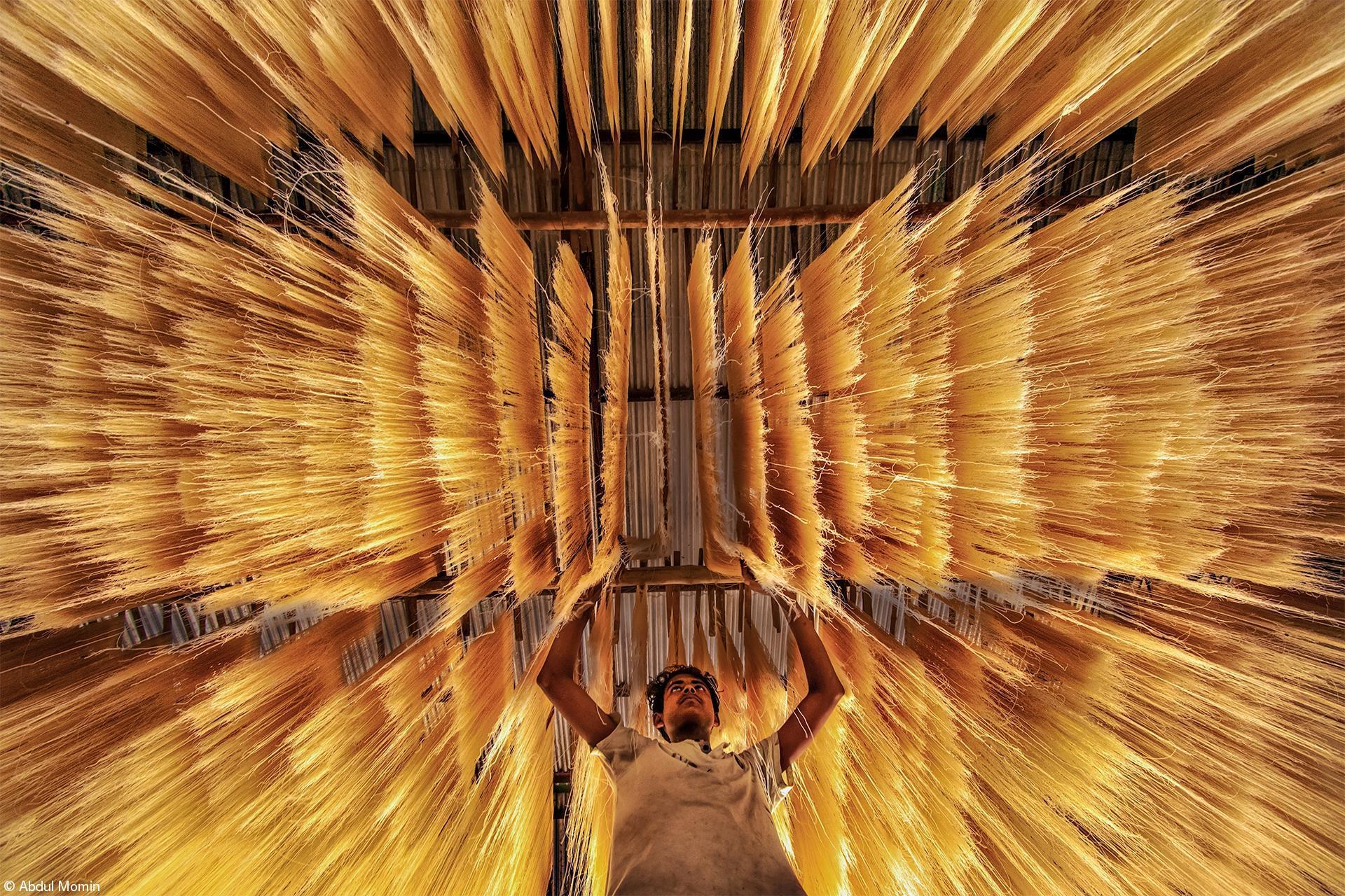 Fujifilm Award for Innovation - Abdul Momin - Making Rice Noodles