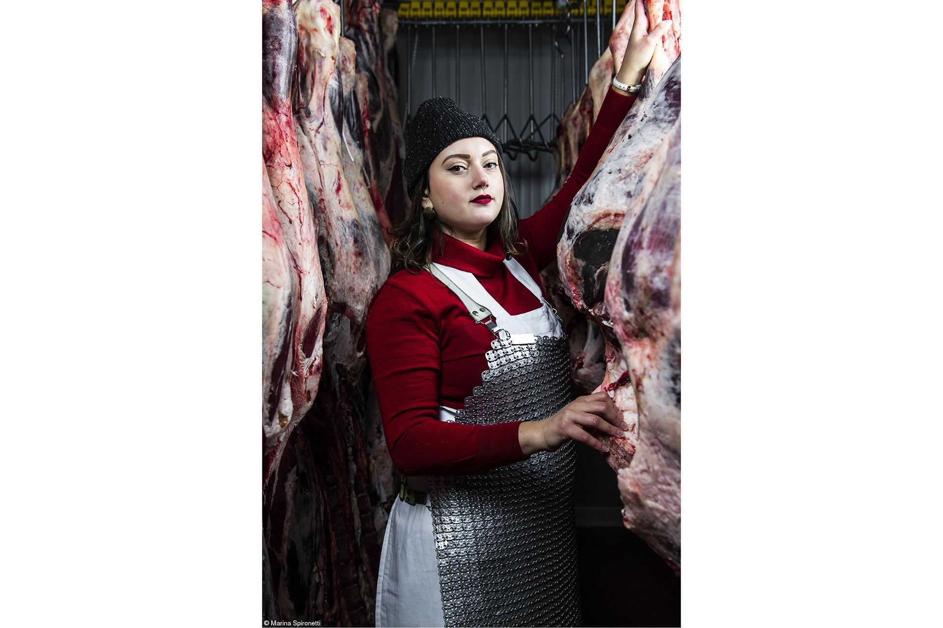 Claire Aho - Marina Spironetti - Female butchers of Panzano