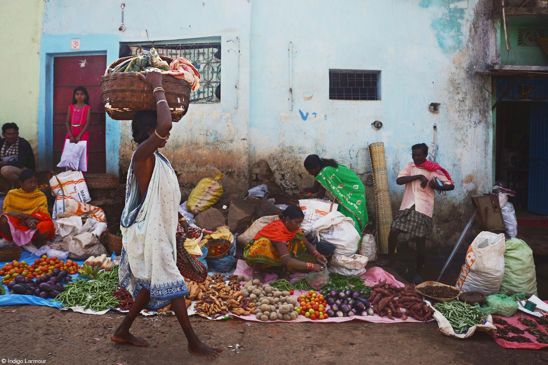 Young 11-14 - Indigo Larmour - Odisha Tribal Markets