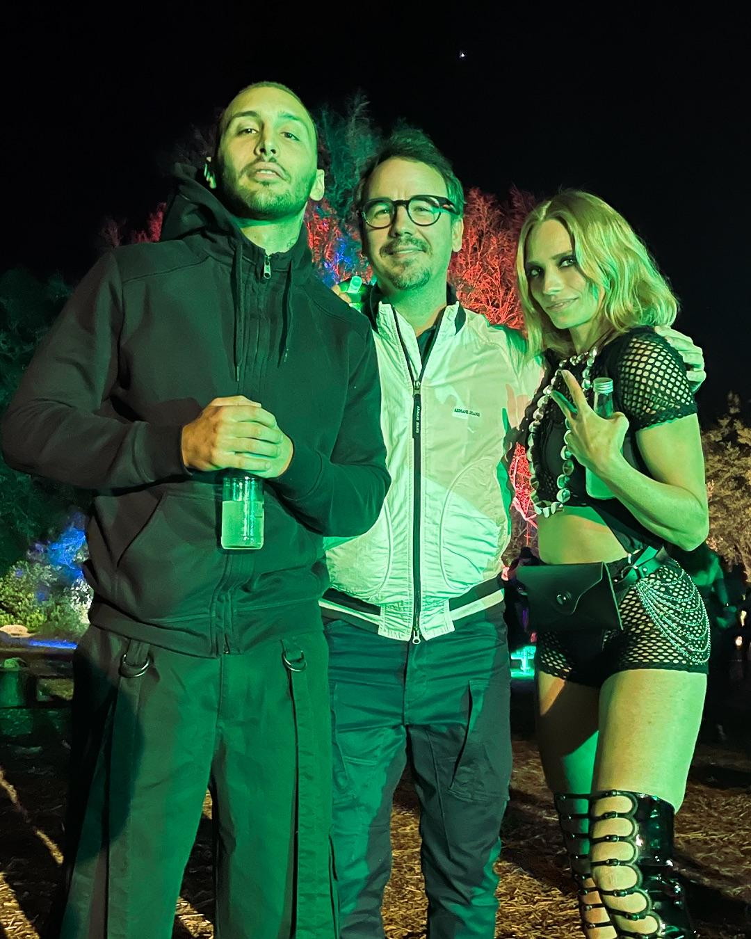 Floriano Pellegrino e Isabella Potì con Paco Morales