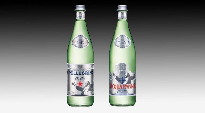 bottiglie-s.pellegrino-acqua-panna-pavarotti