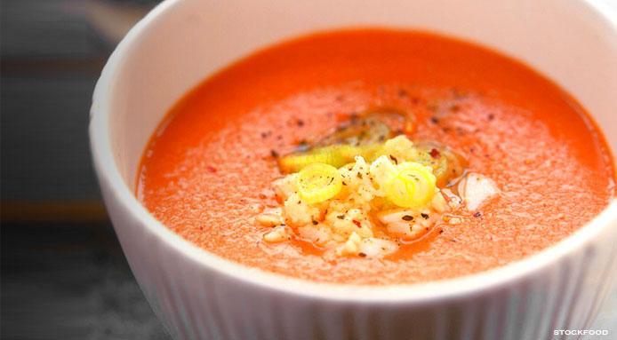 Ricetta Gazpacho Facile.Gazpacho Ricetta Originale Come Preparare Il Gazpacho Andaluso