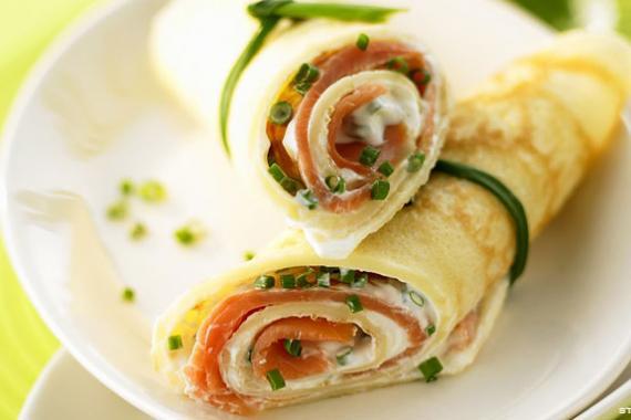 Ricetta Omelette Salmone.Omelette Al Salmone Ricetta Gustosa Per Stupire Gli Ospiti Al Brunch